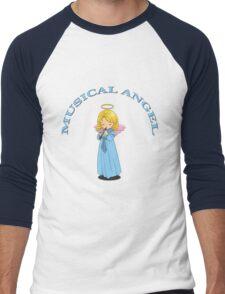 Musical Angel Tee 01 Men's Baseball ¾ T-Shirt