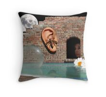 What's The Buzz? Throw Pillow