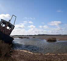 Resting & rusting by David Tovey
