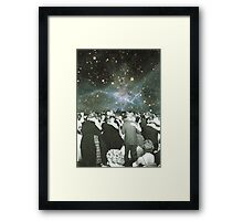 Dancing under the stars Framed Print