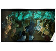 Watership Down - fantasy rabbits poster Poster