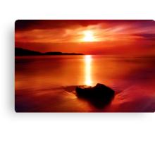 """Solitude At Sunrise"" Canvas Print"