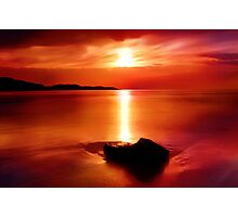 """Solitude At Sunrise"" Photographic Print"