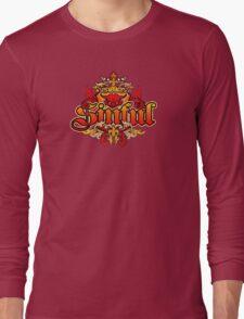 distressed Devil T-Shirt Long Sleeve T-Shirt