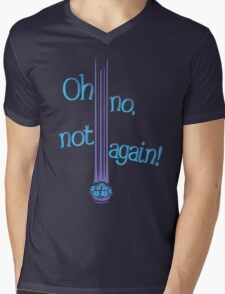 Oh No, Not Again! Mens V-Neck T-Shirt