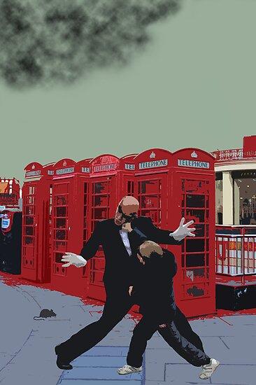 London Matrix, Punching Mr Smith by Jasna