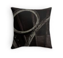 Rust and Ruin Throw Pillow
