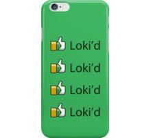 Loki'd! iPhone Case/Skin