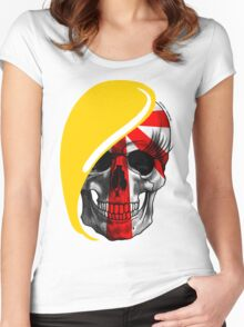 Blond Skull Women's Fitted Scoop T-Shirt