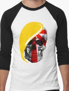 Blond Skull Men's Baseball ¾ T-Shirt