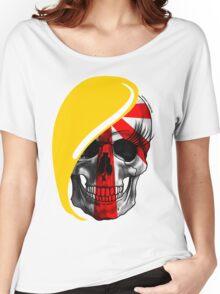 Blond Skull Women's Relaxed Fit T-Shirt