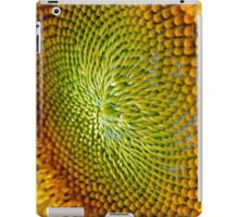 Nature Abstract Sunflower iPad Case/Skin