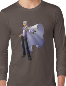 Yolanda, Purple Duelist Long Sleeve T-Shirt