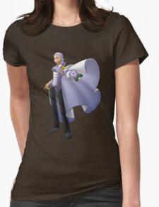 Yolanda, Purple Duelist Womens Fitted T-Shirt