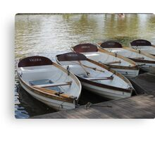 Stratford upon Avon boats Canvas Print