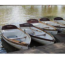 Stratford upon Avon boats Photographic Print