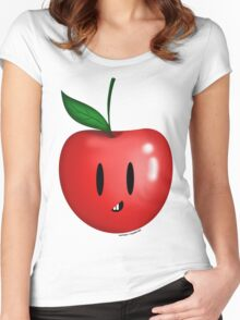 Apple! Women's Fitted Scoop T-Shirt