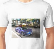 2 Bugatti Veyron Vitesse & McLaren P1 & Ferrari LaFerrari  Unisex T-Shirt