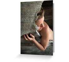 Joanna portraiture Greeting Card