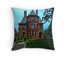 Kansas City Historical Home Throw Pillow