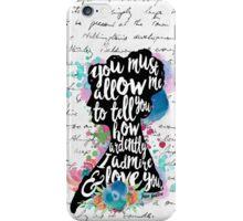 Mr.Darcy - Ardently Admire & Love iPhone Case/Skin