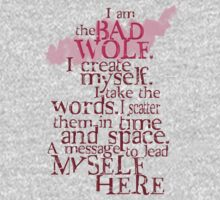 I am the BAD WOLF