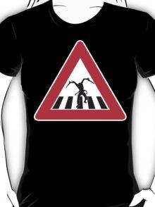 Caution - Necromorph Crossing T-Shirt