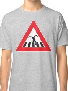 Caution - Necromorph Crossing Classic T-Shirt