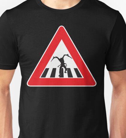 Caution - Necromorph Crossing Unisex T-Shirt
