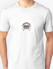 Blue Crab Wreath Unisex T-Shirt