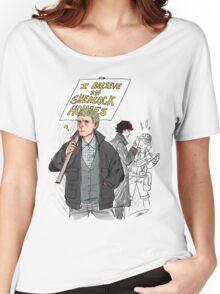 We Believe in Sherlock (Reapersun) Women's Relaxed Fit T-Shirt