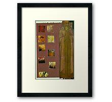 Patron Saint of Japonisme Framed Print