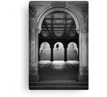 Bethesda Underpass at Central Park, New York City Canvas Print