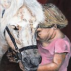 That Special Bond Between A Girl and Her Horse by Judy Bergmann