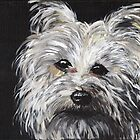 Portrait of Pipsqueak by Judy Bergmann