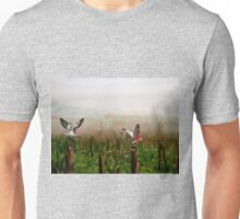 Where are the grapes? Unisex T-Shirt