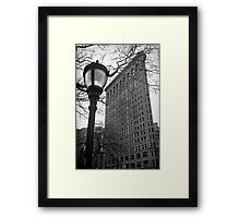 The Flatiron Building, New York City Framed Print