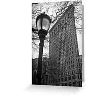 The Flatiron Building, New York City Greeting Card
