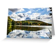 Infinite Grace Fall Landscape Greeting Card