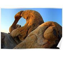 Mobius Arch California Poster