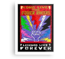 Long Live the Power Rangers Metal Print