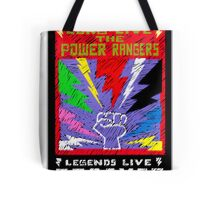 Long Live the Power Rangers Tote Bag