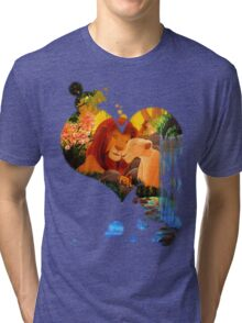 Can you feel the love tonight ? Tri-blend T-Shirt