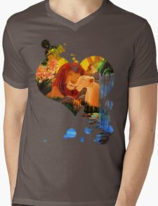 Can you feel the love tonight ? Mens V-Neck T-Shirt