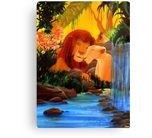 Can you feel the love tonight ? Canvas Print