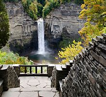 Taughannock Falls Overlook New York Landscape by Christina Rollo