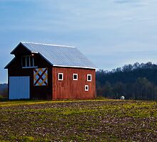 Little Red Barn by Jeanne Sheridan
