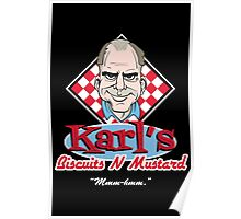 Karl's Biscuits 'N' Mustard Poster