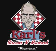 Karl's Biscuits 'N' Mustard by FunButtonPress