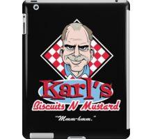 Karl's Biscuits 'N' Mustard iPad Case/Skin